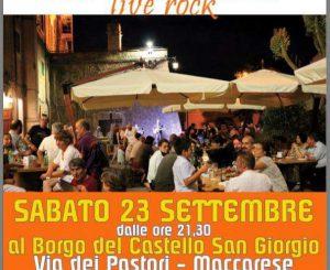 Festa di fine estate sotto il Castello il 23 settembre