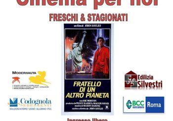 """Cinema x noi, """"Fratello di un altro pianeta"""" il 7"""