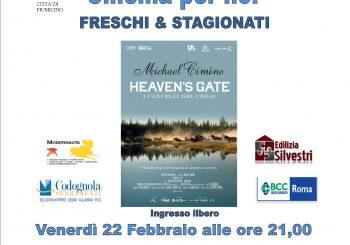 """Cinema x noi, """"I cancelli del cielo"""" il 22 febbraio"""
