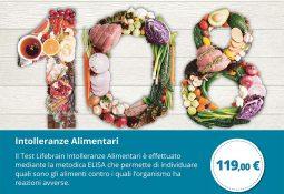 Life Brain – Test intolleranze alimentari a 119€