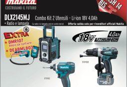 Edilizia Silvestri – Maxi sconti su Promo Kit Makita