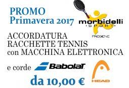 Morbidelli Sport – Promo Accordatura da 10€