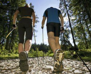Nordic Walking, in pineta il venerdì e il sabato