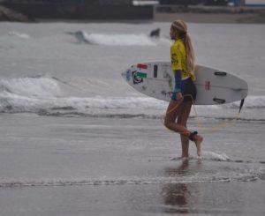 Surf, la giovane Ottavia Salvati ai mondiali juniores