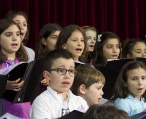 La Pantera Rosa, il coro di voci bianche