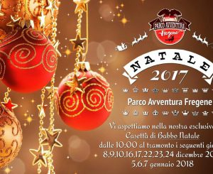 Parco Avventura, dall'8 dicembre Villaggio Elfi e Casetta Babbo Natale