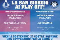 San Giorgio Pallavolo ai Play Off