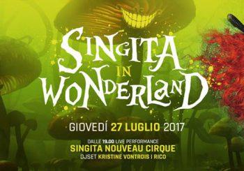 Singita in Wonderland il 27 luglio