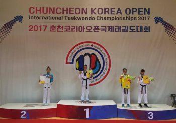 Taekwondo, l'oro di Sofia in Corea