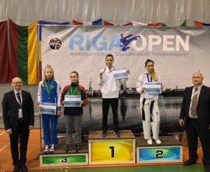 Taekwondo, oro Sofia in Lettonia