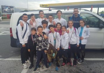 Taekwondo Ostia-Fregene, pioggia di medaglie a Genova