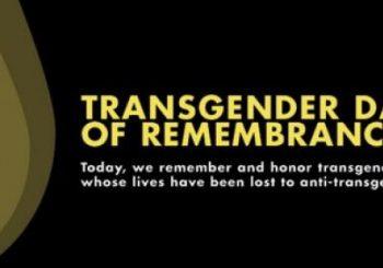 Oggi il Comune ricorda il Trans Day of Remembrance