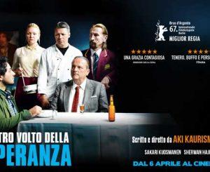 """Cinema x Noi, """"L'altro volto della speranza"""" il 16 marzo"""