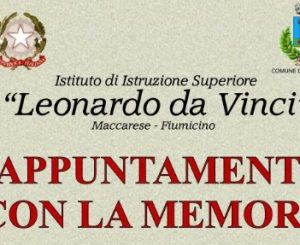 """All'IIS da Vinci """"appuntamento con la memoria"""", 18-20 gennaio"""