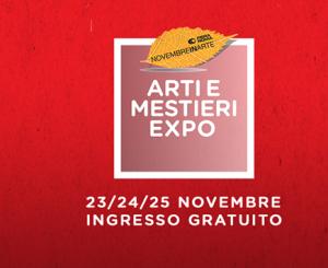 Fiera di Roma, Arti e Mestieri Expo il 23-25 novembre