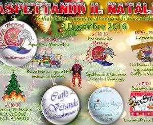 """""""Aspettando il Natale"""" il 4 dicembre in viale Castellammare"""