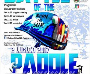 """The battle of the paddle, il 2 luglio a """"La Capannina"""""""