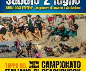 Beach Rugby, campionato italiano all'Hang Loose