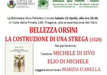 """Biblioteca Pallotta, racconto di """"Bellezza Orsini"""" il 22 aprile"""