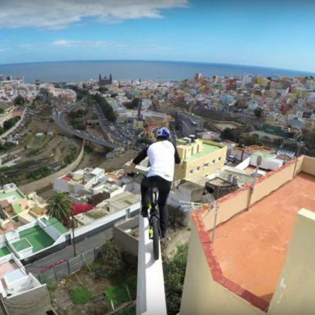 In bici sui tetti di Gran Canaria