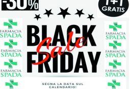 Farmacia Spada – Black Friday il 23 novembre