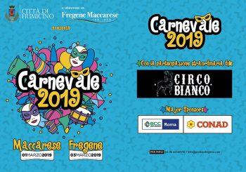 Pro Loco Fregene e Maccarese, Festa di Carnevale 1-3 marzo