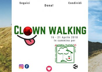 Clownwalking per 4 super ragazze