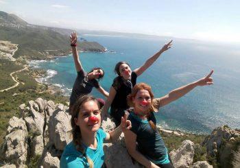 Clownwalking, 4 super ragazze verso la Costiera Amalfitana