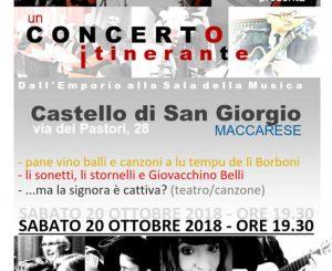 L'Insieme Harmonico, concerto itinerante il 20 ottobre