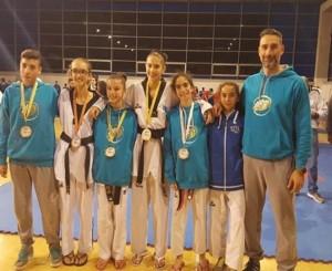 Taekwondo, l'Asd Ostia-Fregene protagonista