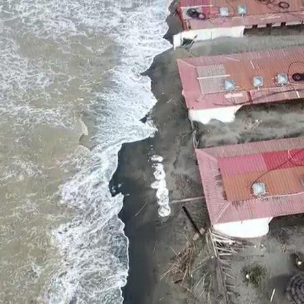 Erosione, dal cielo fa ancora più paura