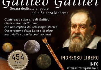 Una serata dedicata a Galileo Galilei il 16 febbraio