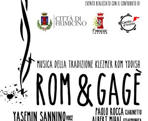 """Rom & Gagé"", concerto a Maccarese il 27 gennaio"