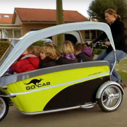 Una super cargo bike