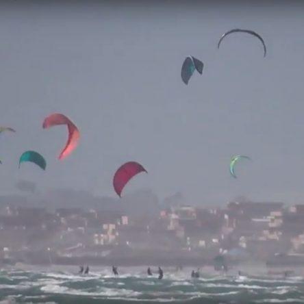 I mille colori dei kiters