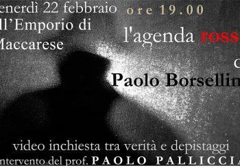 """Maccarese, """"L'agenda rossa di Paolo Borsellino"""" il 22 febbraio"""