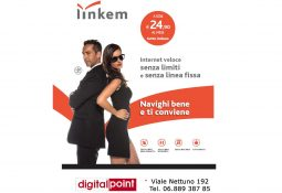Digital Point – Linkem: Internet a 24,9€/mese