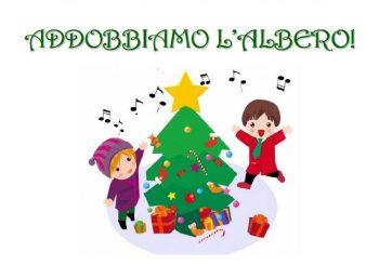 """""""Addobbiamo l'albero"""" con i bambini della scuola il 7 dicembre"""