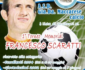 "Al via Memorial ""Francesco Scaratti"""