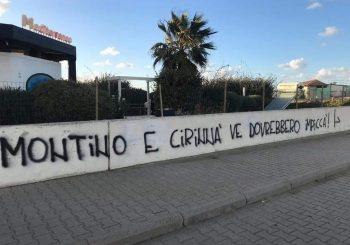 Fiumicino, scritta shock contro Montino e Cirinnà