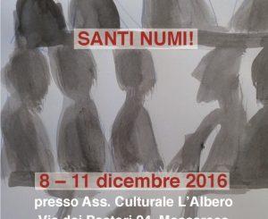 """""""Santi Numi"""", mostra di Enrico Borghini dall'8 dicembre"""
