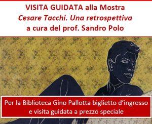 Alla Mostra Cesare Tacchi con la Biblioteca Pallotta il 28 aprile