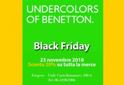 Benetton Undercolors – Black Friday il 23 novembre