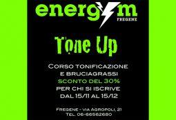 Energym – Sconto del 30% su corso TONE UP