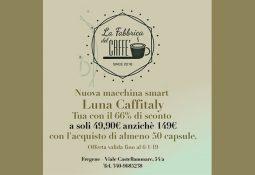 La fabbrica del caffé – Luna Caffitaly a 49€ (anziché 149€)