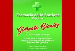 Farmacia della Stazione – Giornata Bionike il 27 novembre