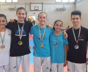 Taekwondo Ostia-Fregene, ottimi risultati all'Olimpic Dream