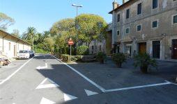 La nuova piazzetta al Castello San Giorgio