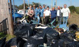 Pulizia Villaggio, la grande raccolta dei volontari