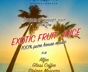 Exotic Fruit Juice alla Rambla il 27 agosto